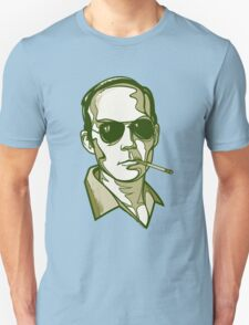 Hunter S. Thompson green Unisex T-Shirt