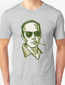 Hunter S. Thompson green Unisex T-Shirt