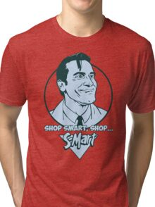 Ash from Evil Dead blue Tri-blend T-Shirt