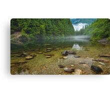 Alouette Lake Clearity Canvas Print