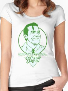 Ash from Evil Dead green Women's Fitted Scoop T-Shirt