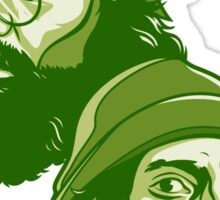 Cheech and Chong green Sticker
