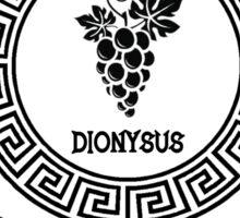 Percy Jackson - Camp Half-Blood - Cabin Twelve - Dionysus Sticker