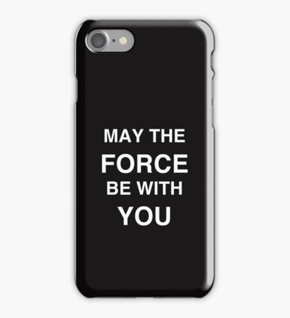 FORCE iPhone Case/Skin