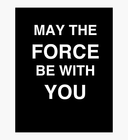 FORCE Photographic Print