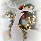 Crystal Christmas Stag by ©Dawne M. Dunton