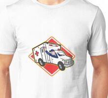 Ambulance Vehicle Emergency Medical Technician Paramedic  Unisex T-Shirt