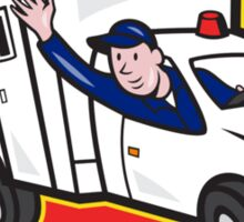 Ambulance Vehicle Emergency Medical Technician Paramedic  Sticker