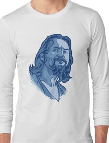 The Dude blue Long Sleeve T-Shirt