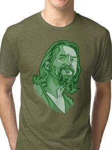 The Dude green Tri-blend T-Shirt