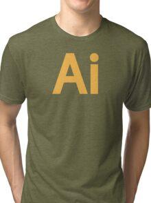 Illustrator Tri-blend T-Shirt
