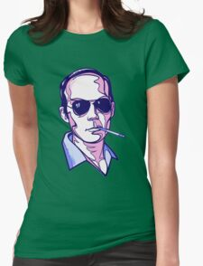 Hunter S. Thompson violet Womens T-Shirt