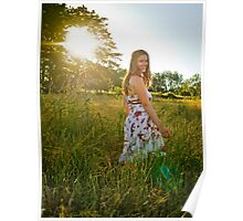 Meadow Beauty Poster