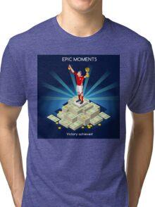Football Champion Epic Moments Tri-blend T-Shirt