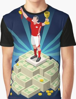 Football Champion Epic Moments Graphic T-Shirt