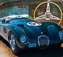 1953 Jaguar C-Type Replica by Stuart Row