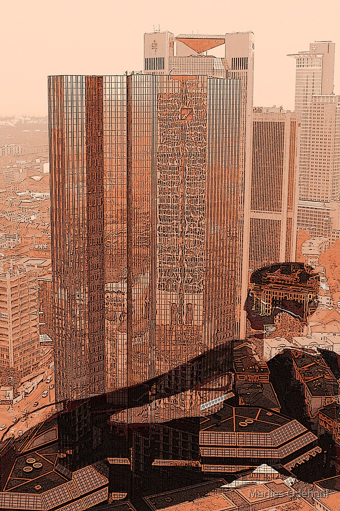 At the bottom - Frankfurt by Marlies Odehnal