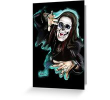 Ozzy Greeting Card