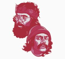 Cheech and Chong pink by Cloxboy
