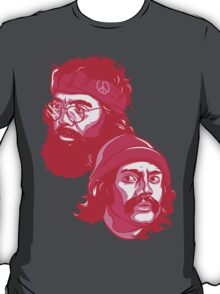 Cheech and Chong pink T-Shirt