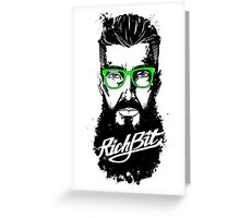 RichBit. Hipster Greeting Card