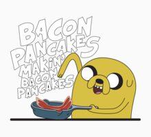 Jake - Adventure Time - Pancakes Kids Clothes