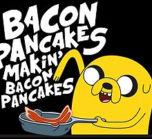 Jake - Adventure Time - Pancakes by angga80