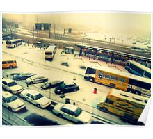 Footlong Buses ( Street Shots ) Poster