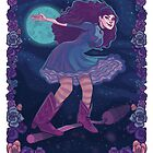 Girly Tarot Cards-The Moon! by alisonvellas