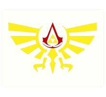 Brotherhood of the the Ocarina Art Print