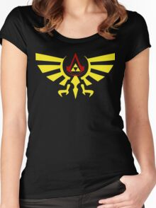 Brotherhood of the the Ocarina Women's Fitted Scoop T-Shirt