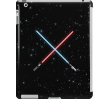 Star Wars Crossed Lightsabers Space pattern iPad Case/Skin