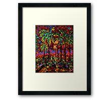 Sunbeam by Florida Artist John E Metcalfe Framed Print