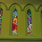 Albert Street Uniting Church, Brisbane - Easter set. by Margaret  Hyde