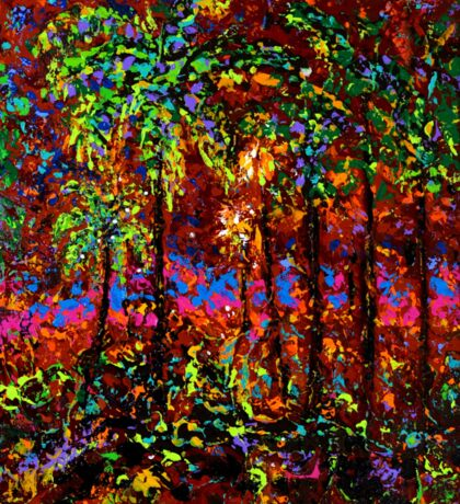 Sunbeam by Florida Artist John E Metcalfe Sticker
