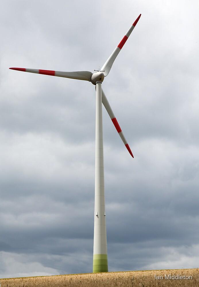 Wind turbine in Germany by Ian Middleton