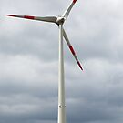 Wind turbine in Germany by Ian Middleton