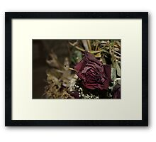 Dead Love Framed Print