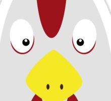 Chicken head Sticker