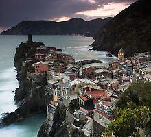 Evening over Vernazza by Brendon Doran