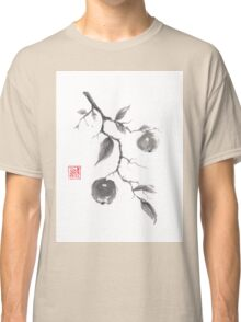 Fruits of the fall sumi-e painting Classic T-Shirt