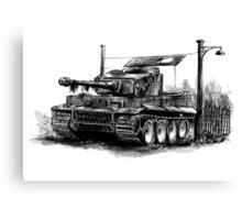Tiger Heavy Tank Canvas Print