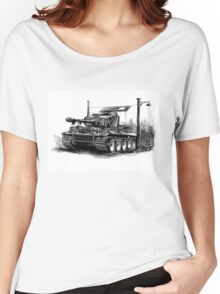 Tiger Heavy Tank Women's Relaxed Fit T-Shirt