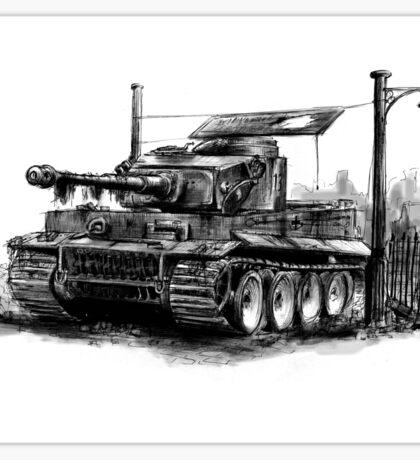 Tiger Heavy Tank Sticker