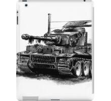 Tiger Heavy Tank iPad Case/Skin