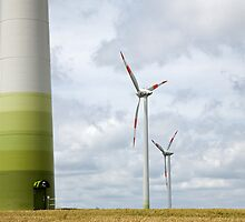 Wind farm in Germany by Ian Middleton