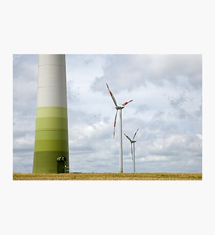 Wind farm in Germany Photographic Print