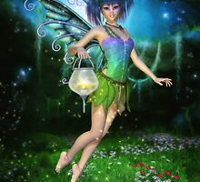 Faerie Glimmers in the Night by Brandy Thomas