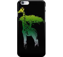africa giraffe colored iPhone Case/Skin