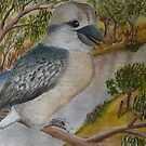 Kookaburra by David Fraser